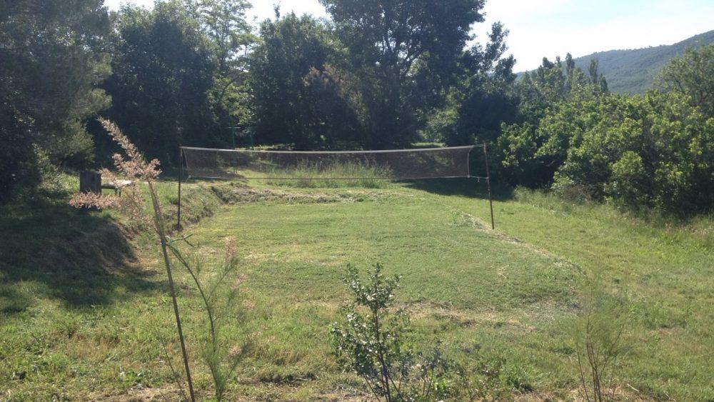 Propriété avec un terrain de Badminton