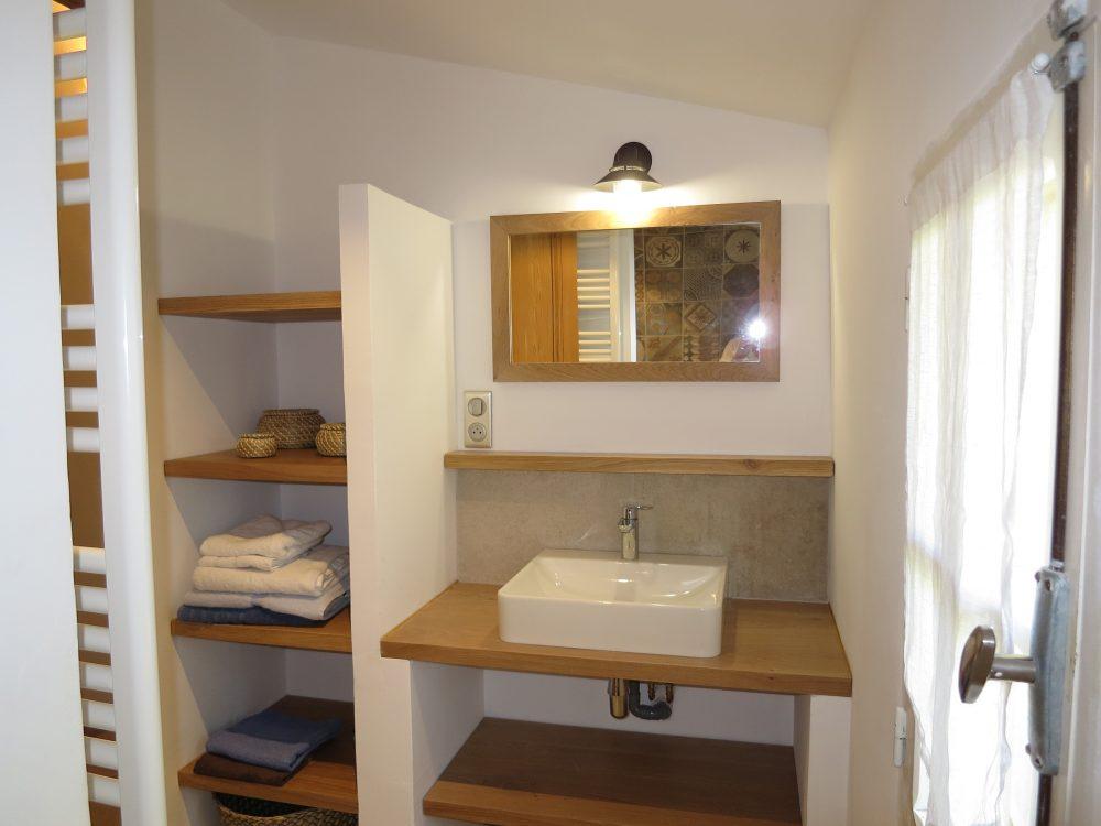 Salle de bains du Mas du Luberon