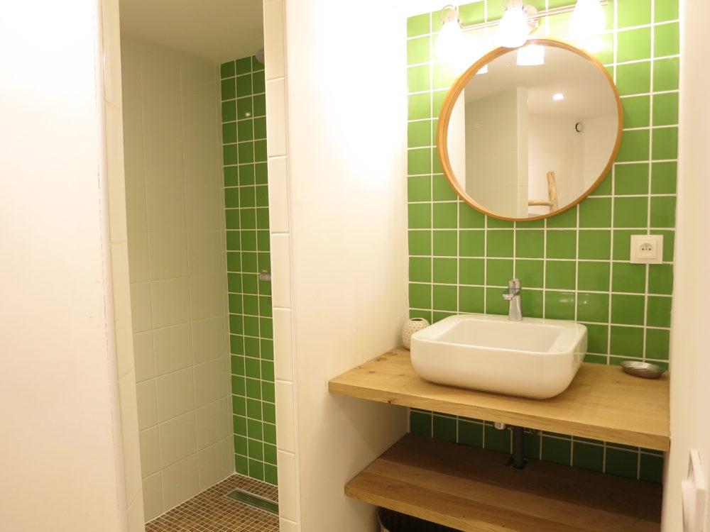 Salle d\'eau chambre parentale - Domaine de la Bastidonne