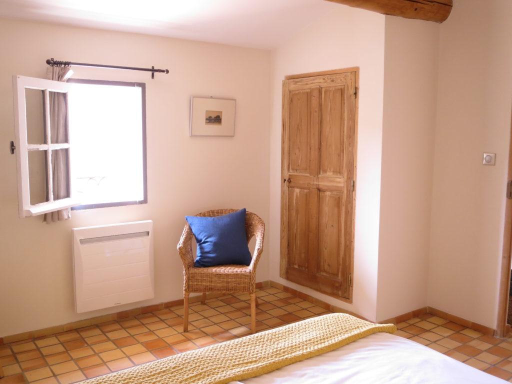 Chambre avec vue sur le Luberon