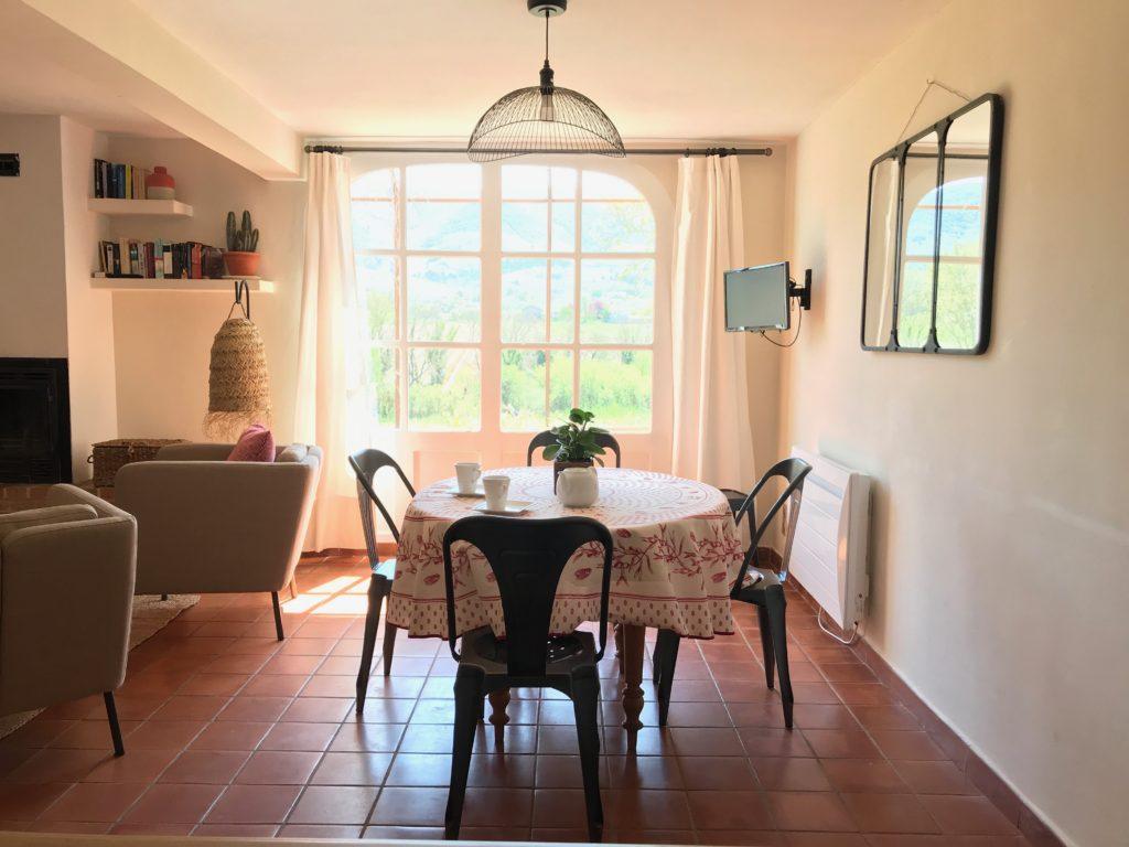 salle à manger Mas du Luberon