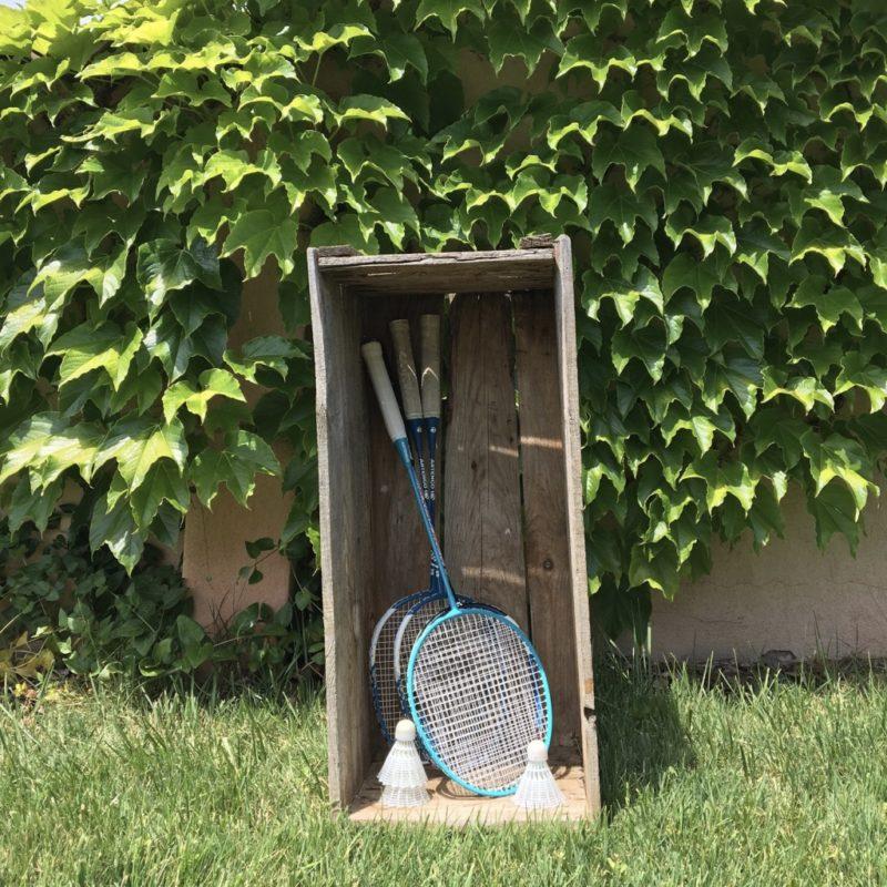 Domaine de la Bastidonne, terrrain de badminton