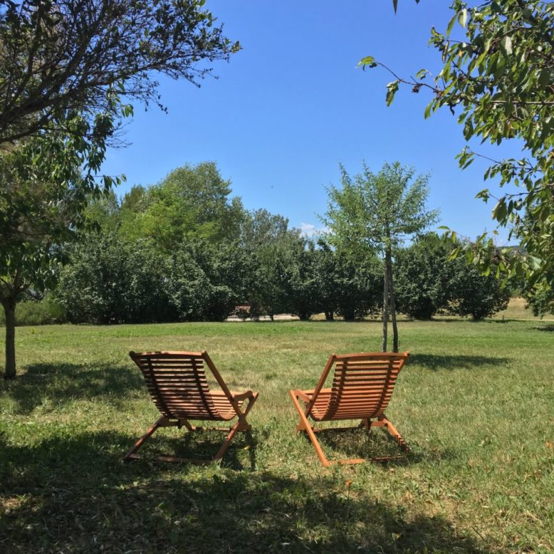 Domaine de la Bastidonne, jardins