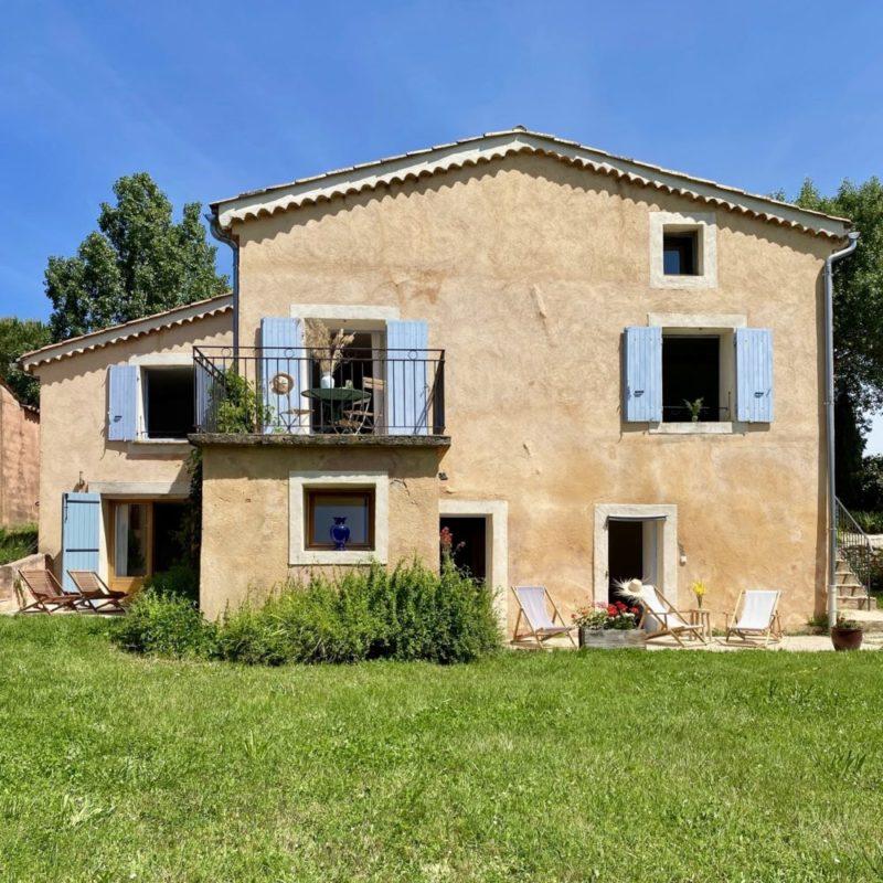La Bastide 1830 Céreste Maison à louer avec piscine chauffée dans le Luberon